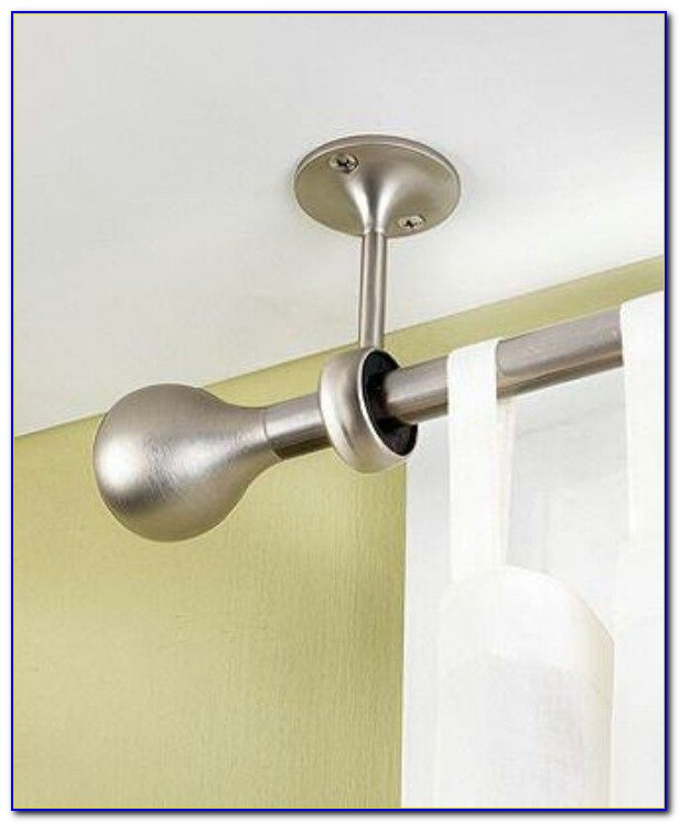 Ceiling Mounted Curtain Hardware
