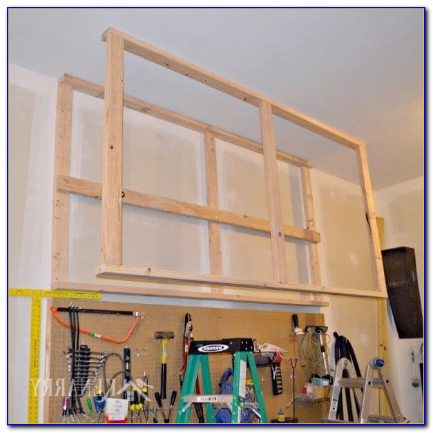 Ceiling Mounted Garage Storage Systems