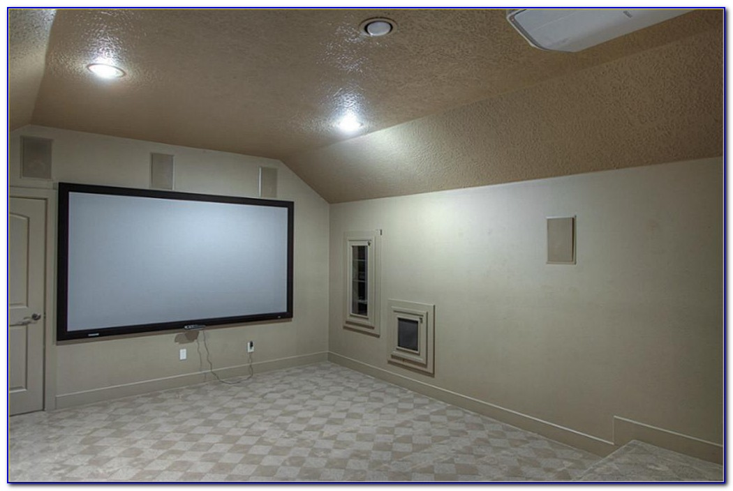Ceiling Mounted Surround Speaker Placement