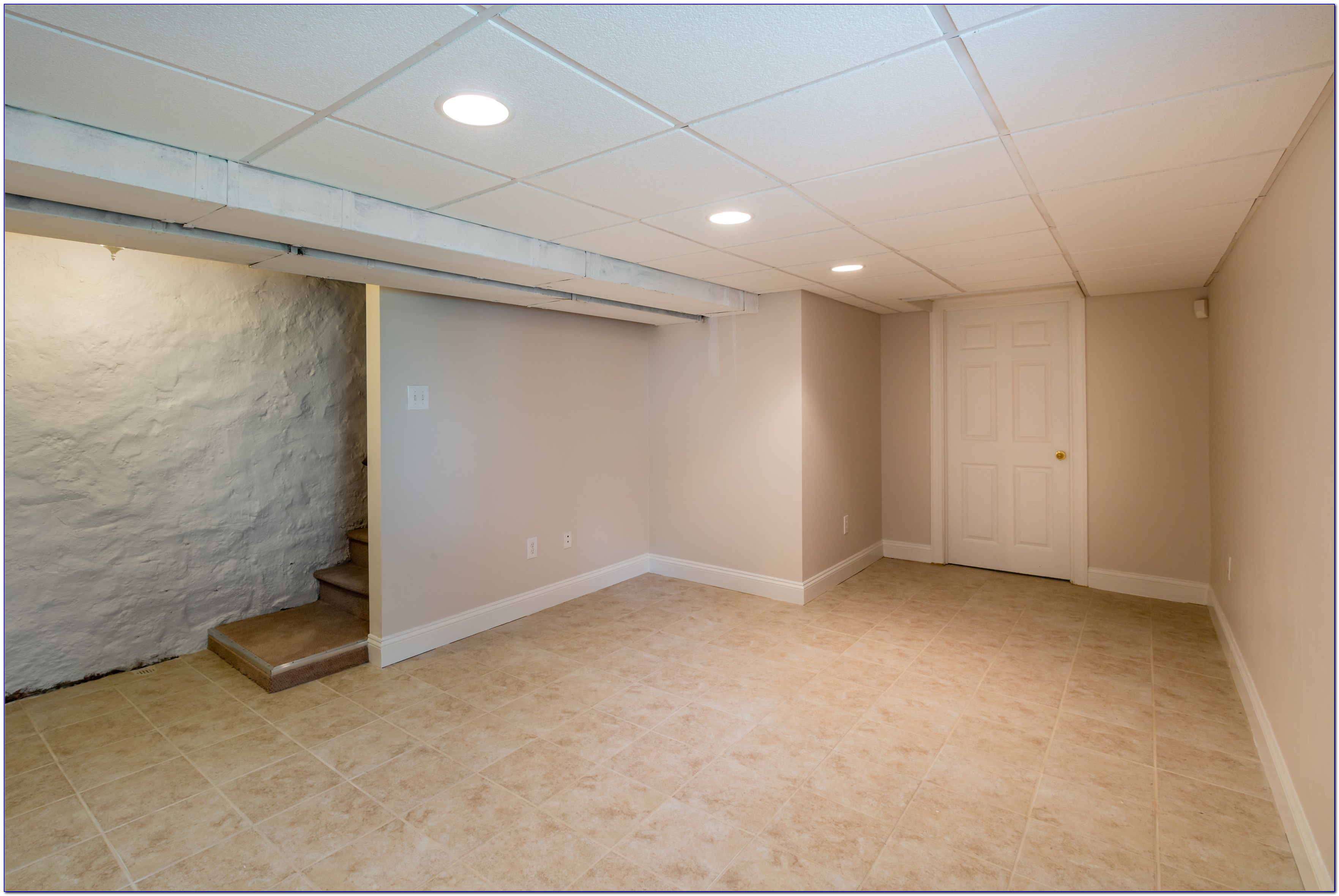 Ceiling Tiles For Basement With Acoustic