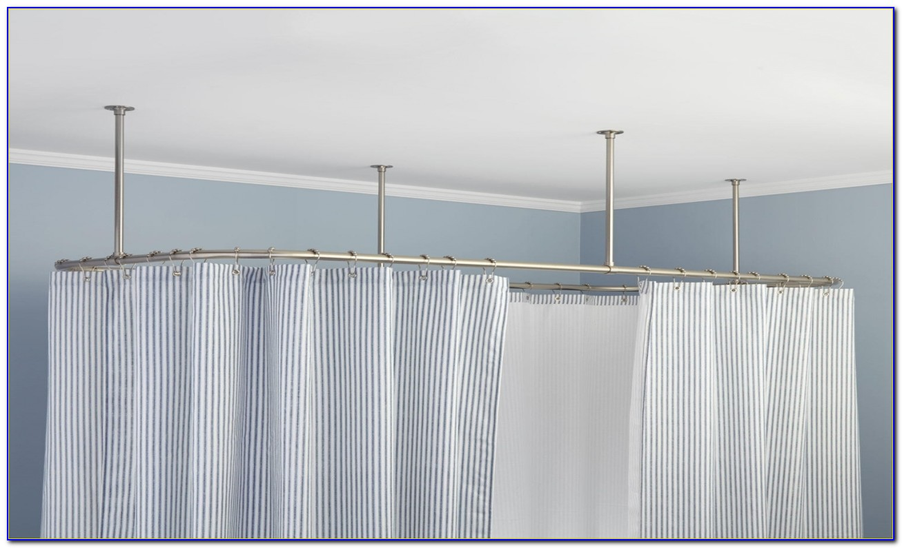 Curtain Rods For Slanted Ceilings