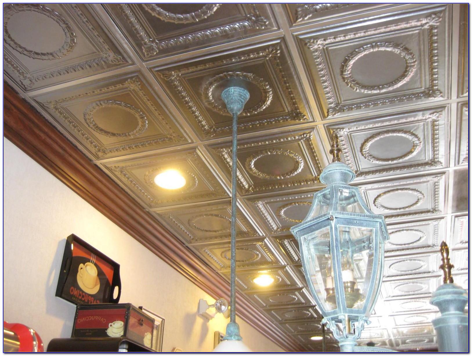 Decorative Acoustical Ceiling Panels