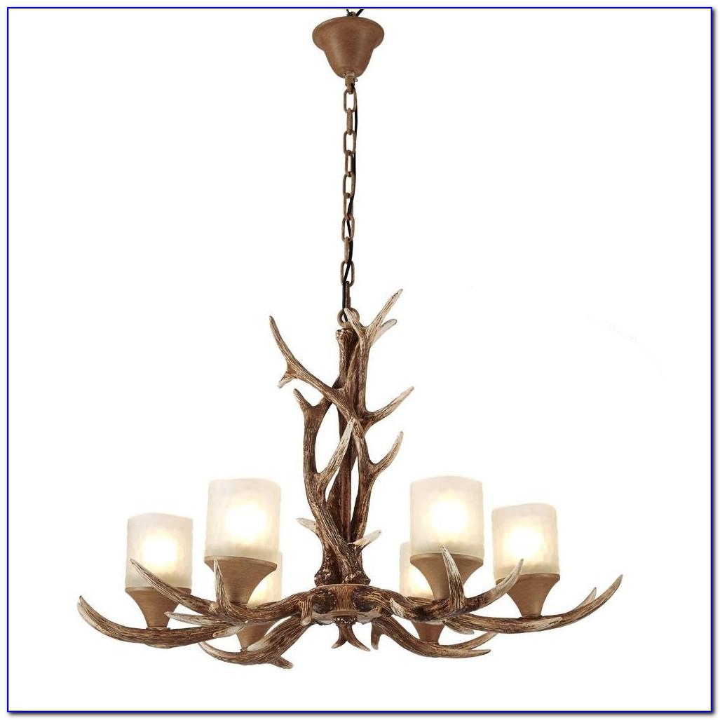Deer Antler Ceiling Fan Light