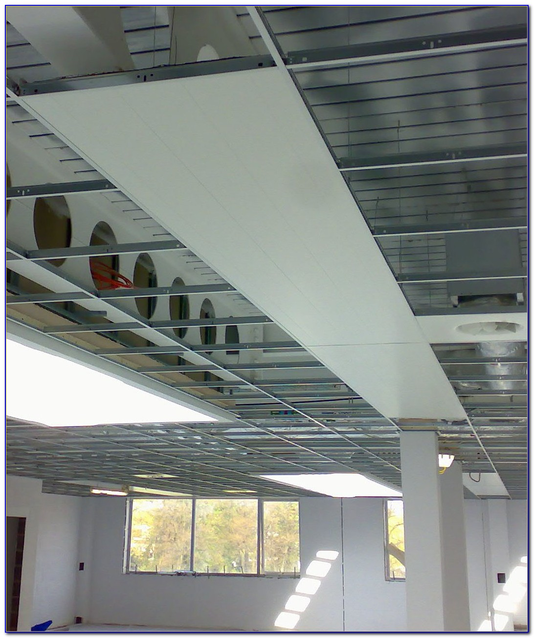 Electric Radiant Ceiling Heat System