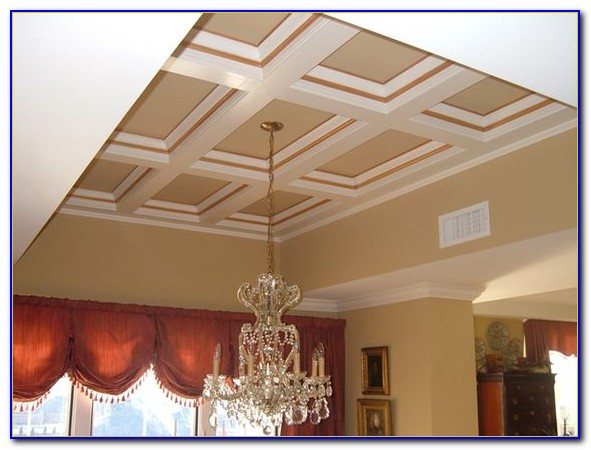 Faux Coffered Ceiling Kits