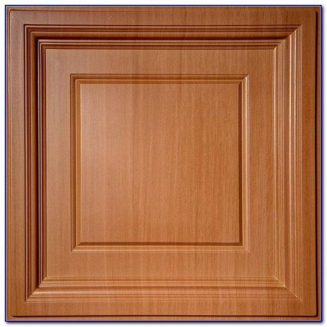 Faux Wood Drop Ceiling Panels