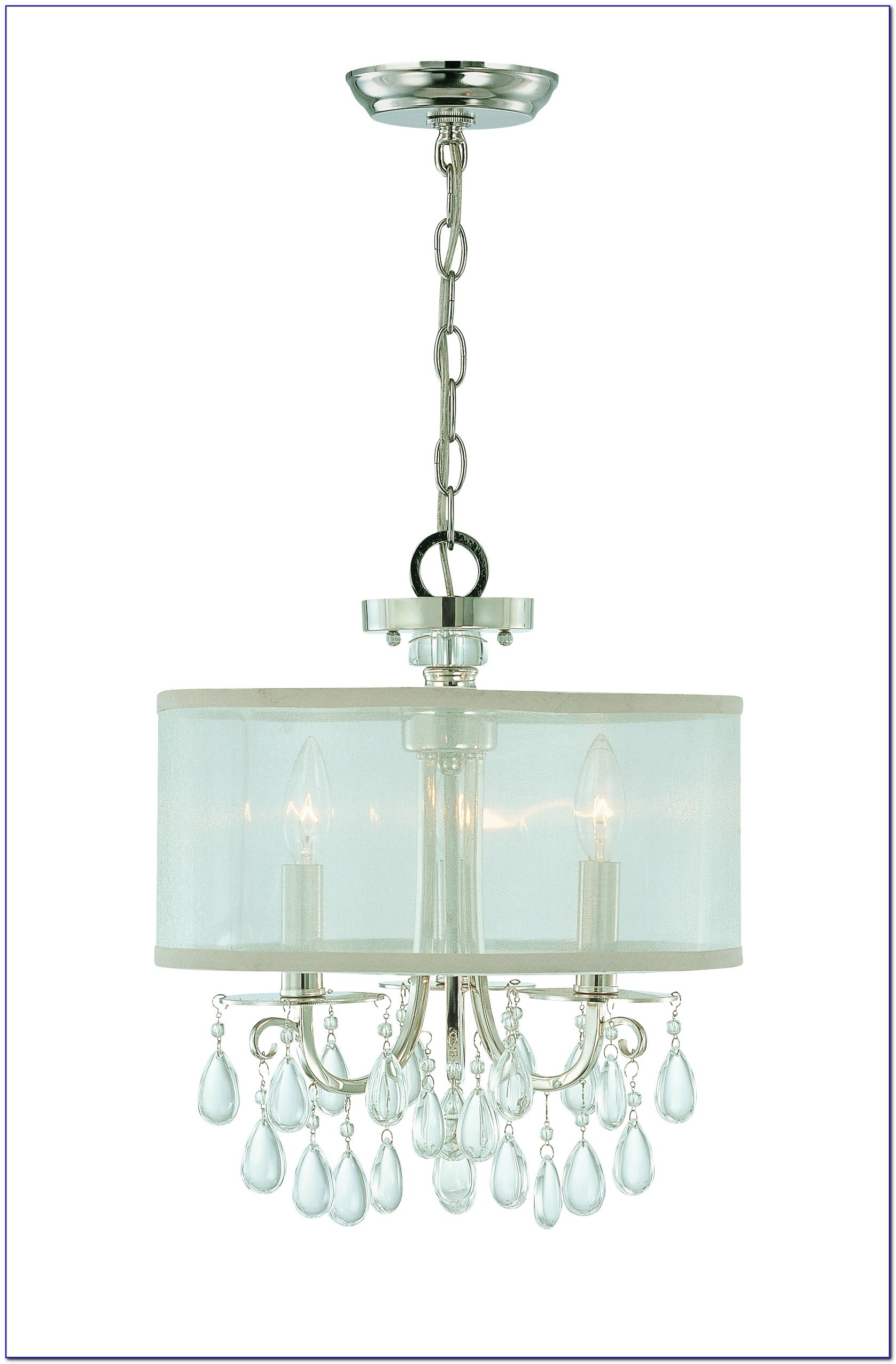 Flush Mount Crystal Chandelier Canada