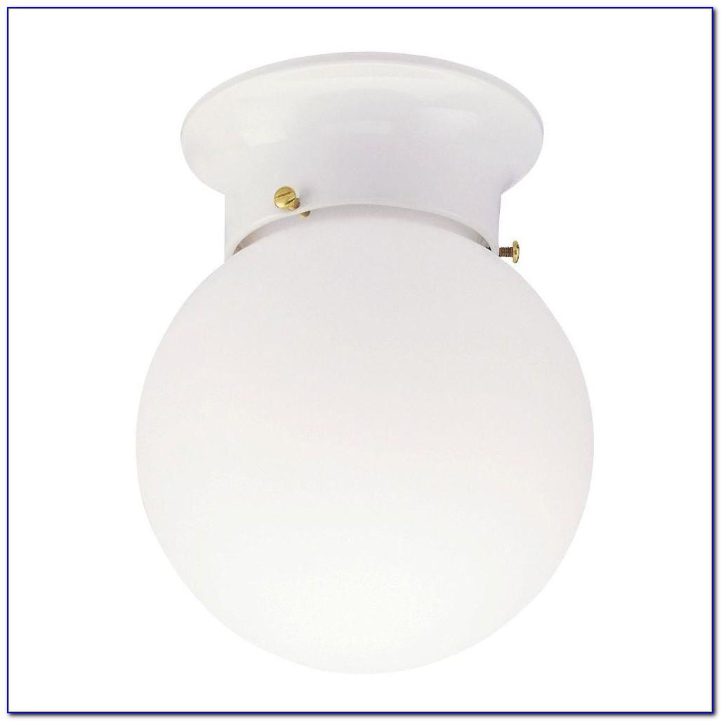 Globe Ceiling Light Fixture