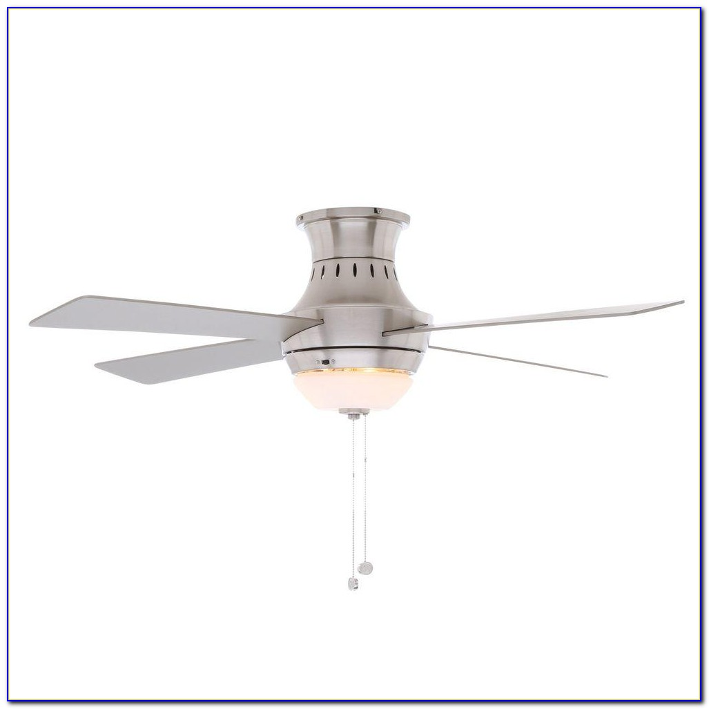 Hampton Bay 52 Brushed Nickel Ceiling Fan