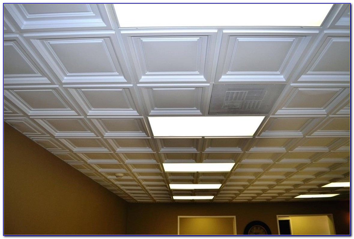 How To Take Out Drop Ceiling Tiles