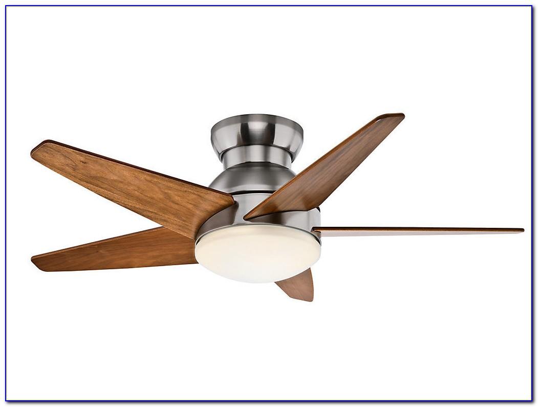 Hugger 52 In Brushed Nickel Ceiling Fan
