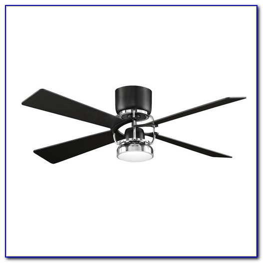 Hugger 52 In. Black Ceiling Fan