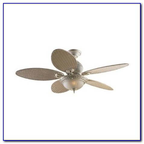 Hunter Caribbean Breeze 54 In. Weathered Bronze Ceiling Fan