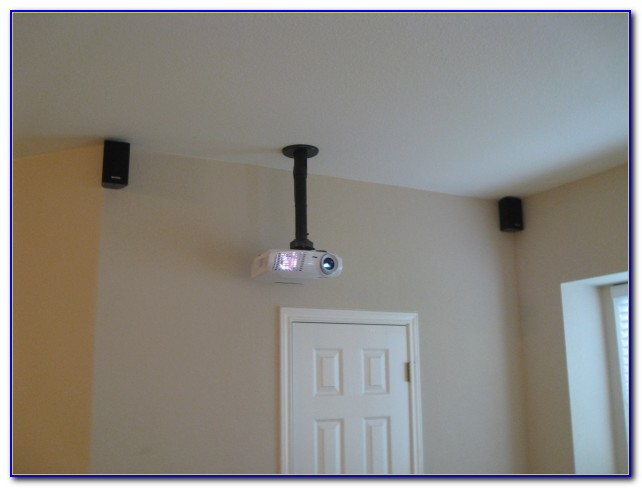 Install Projector On Ceiling