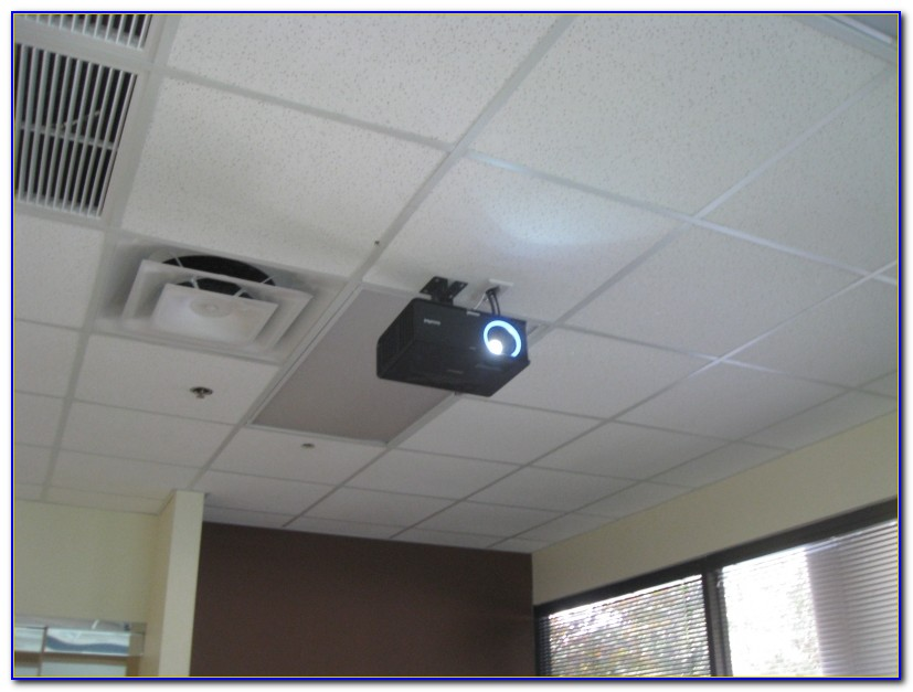 Install Projector On Drop Ceiling