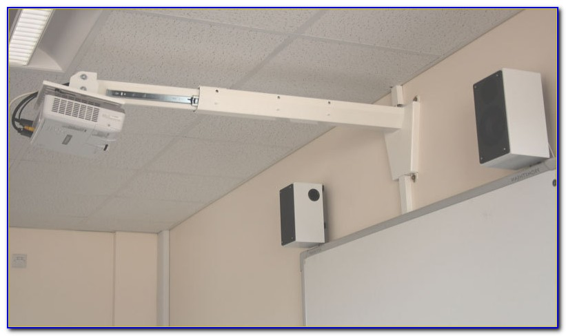 Install Projector Screen On Ceiling