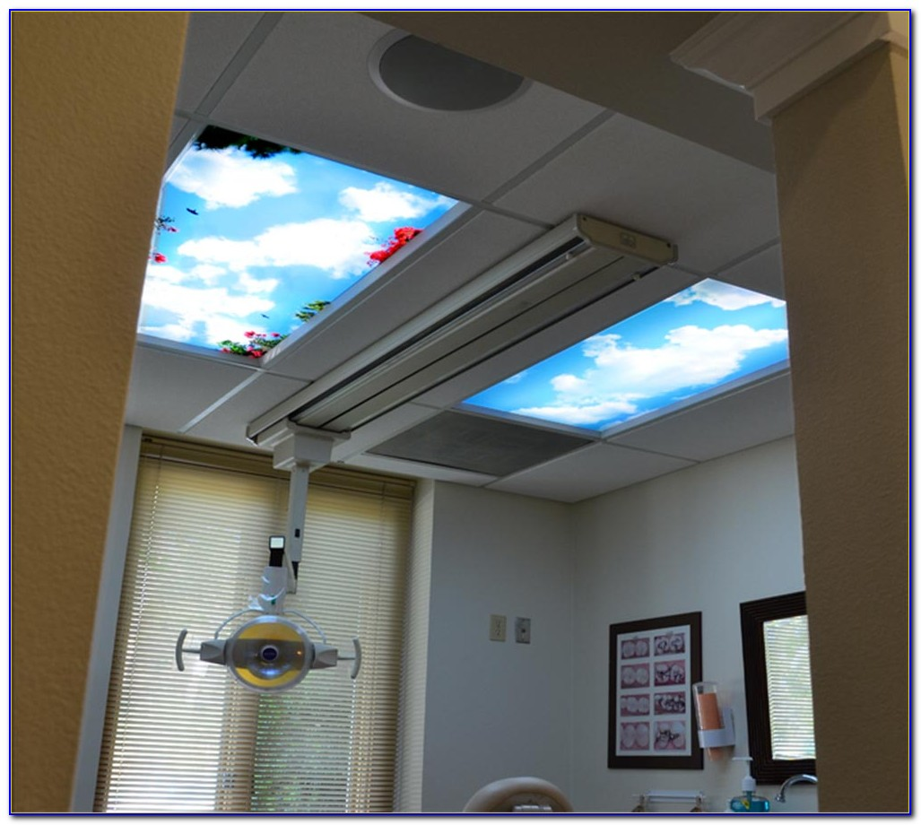 Installing Fluorescent Light Fixtures Drop Ceiling