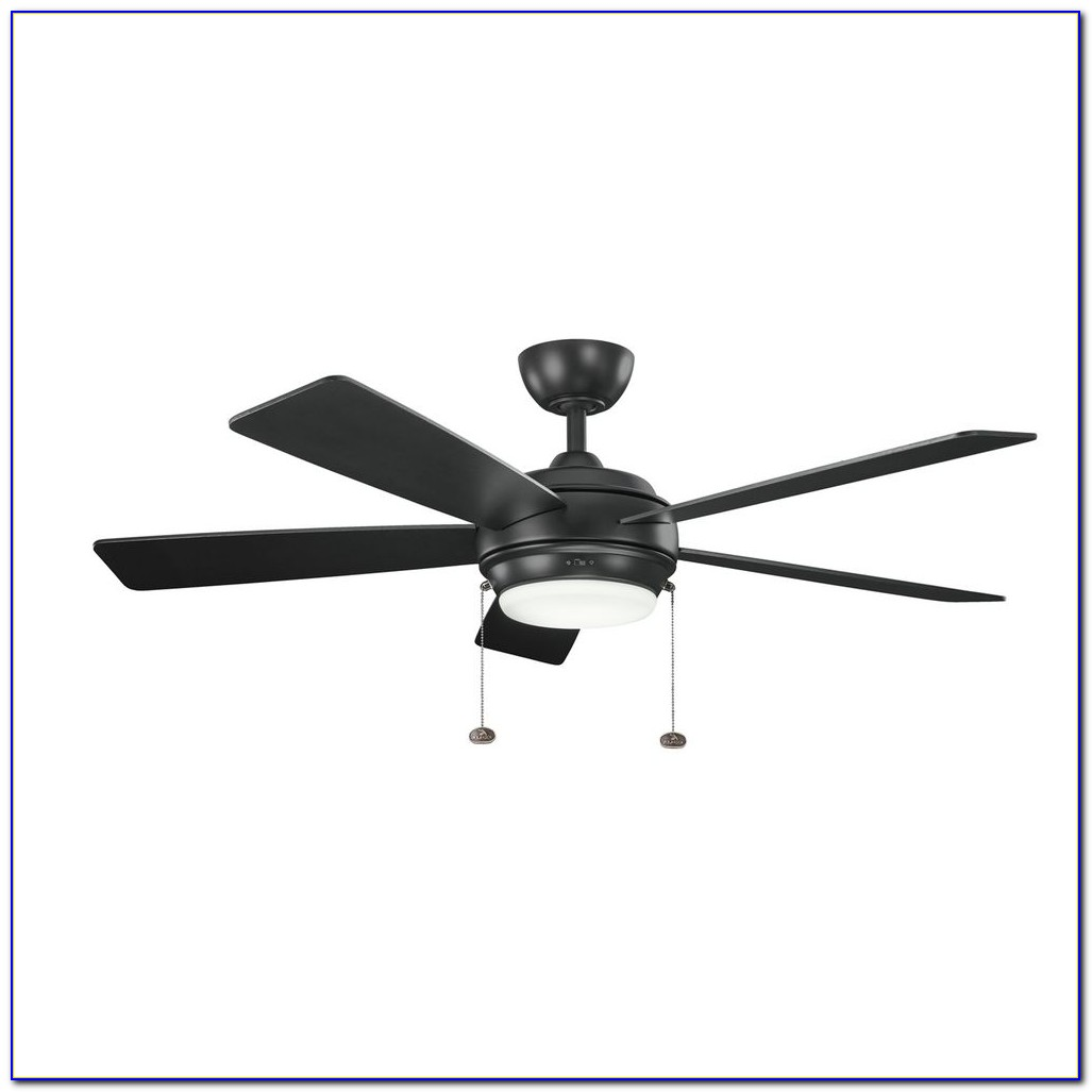 Kichler Flush Mount Ceiling Fans With Lights