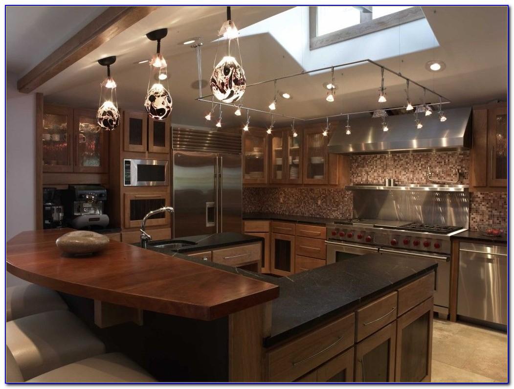 Kitchen Lighting For Sloped Ceilings