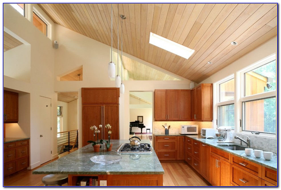 Kitchen Lighting For Vaulted Ceilings