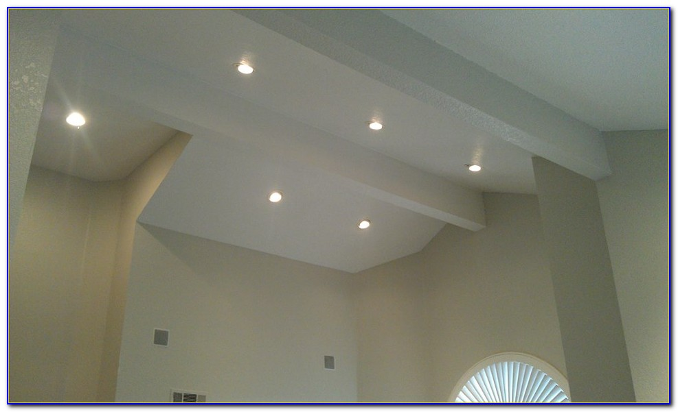 Led Recessed Light Sloped Ceiling