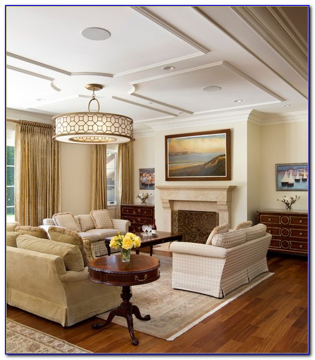 Living Room Ceiling Lamp Ideas