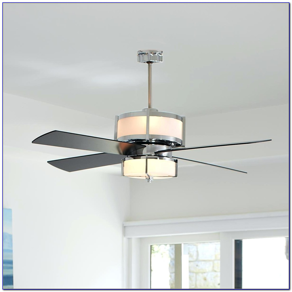 Modern Ceiling Fan Without Light