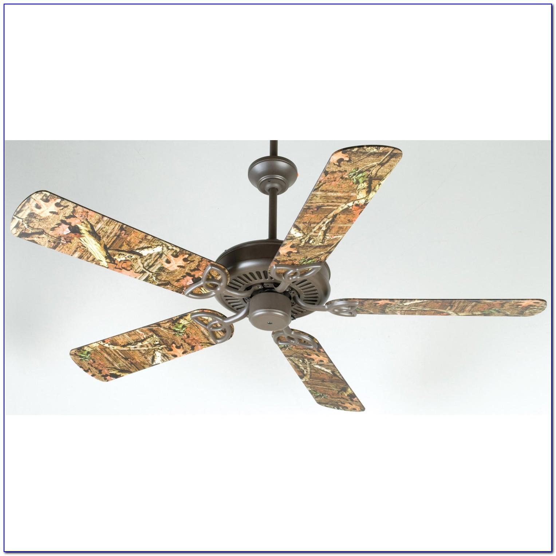 Mossy Oak Ceiling Fan With Light