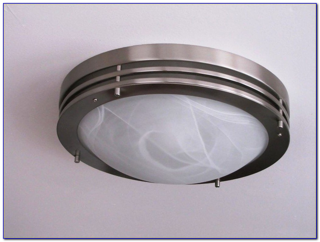 Outdoor Flush Mount Ceiling Light With Motion Sensor