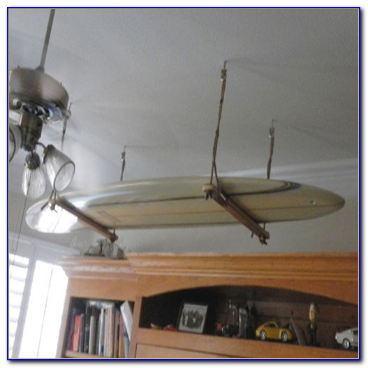 Paddle Board Ceiling Rack