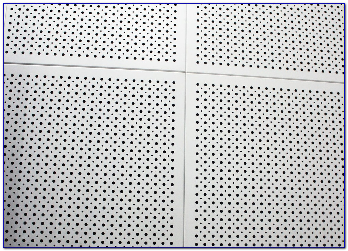 Perforated Metal Ceiling Tiles