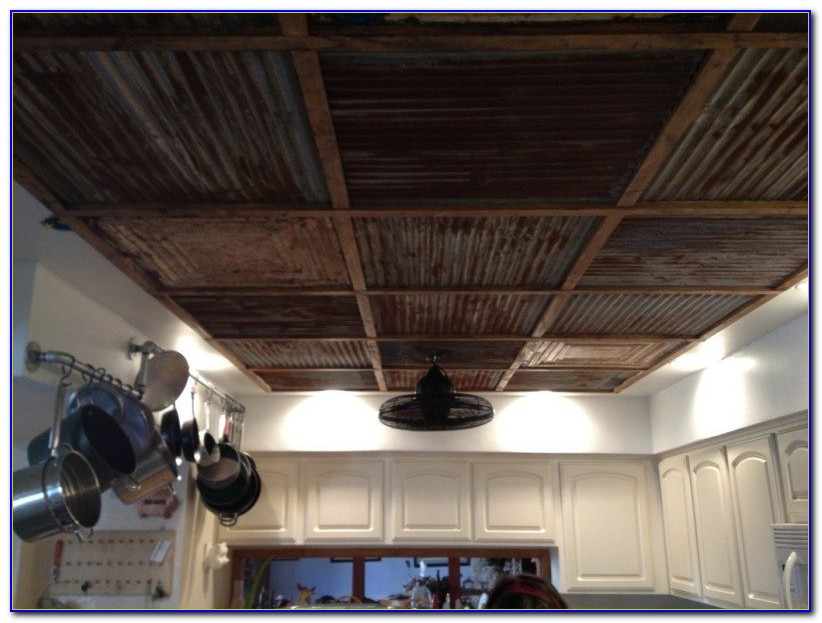 Pictures Of Faux Tin Ceilings