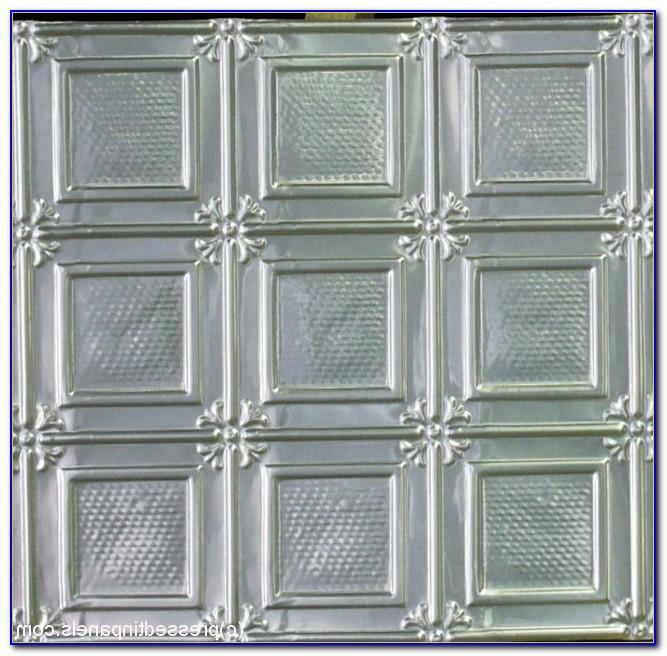 Pressed Metal Ceiling Tiles