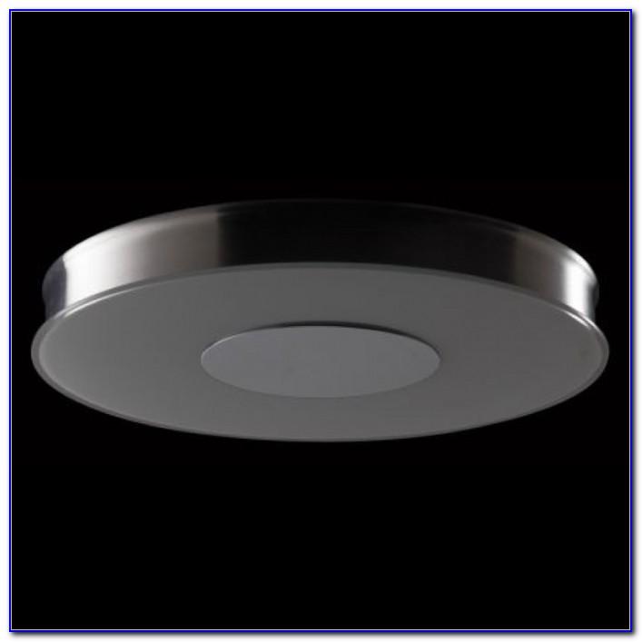 Round Fluorescent Ceiling Fixture