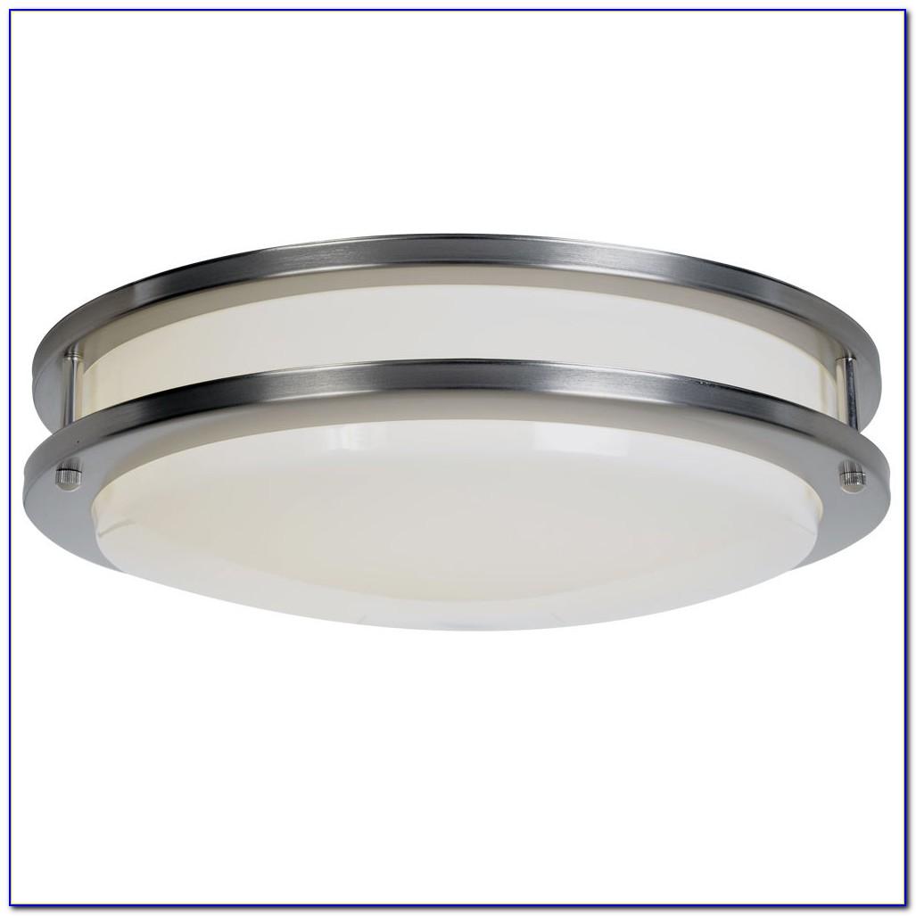 Round Fluorescent Ceiling Light Kitchen
