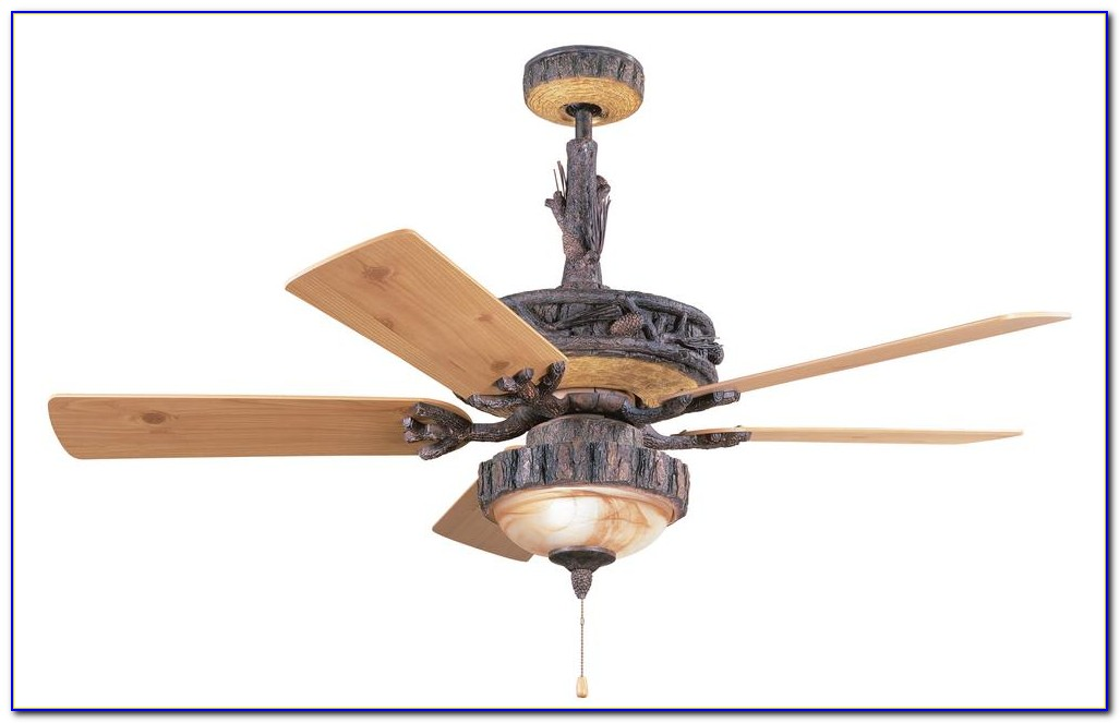 Rustic Cabin Ceiling Fans