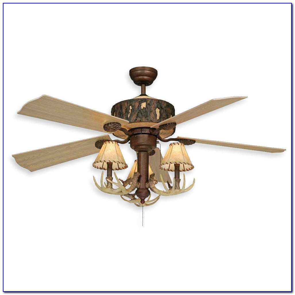 Rustic Log Cabin Ceiling Fans