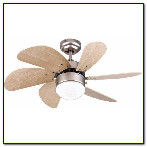 Six Blade Ceiling Fan With Light