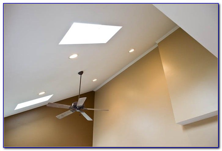 Sloped Ceiling Recessed Lights