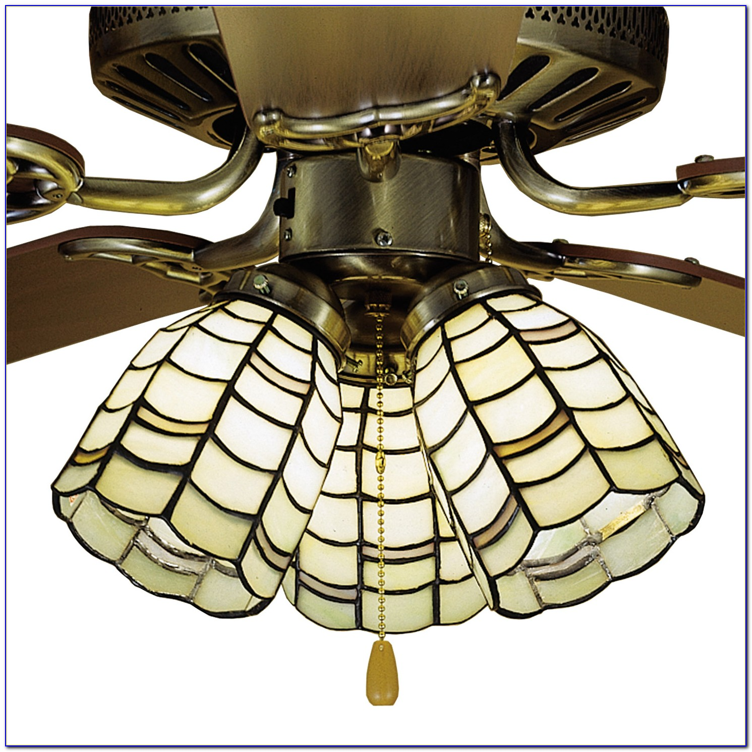 Tiffany Ceiling Fan Light Shades