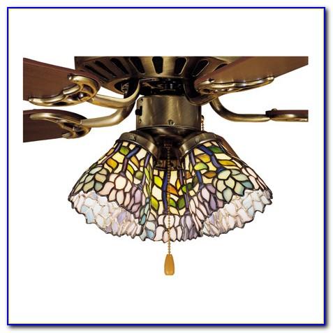 Tiffany Ceiling Fan Shades