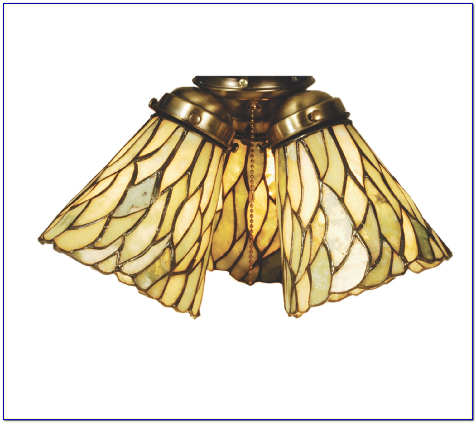 Tiffany Style Ceiling Fan Glass Shades