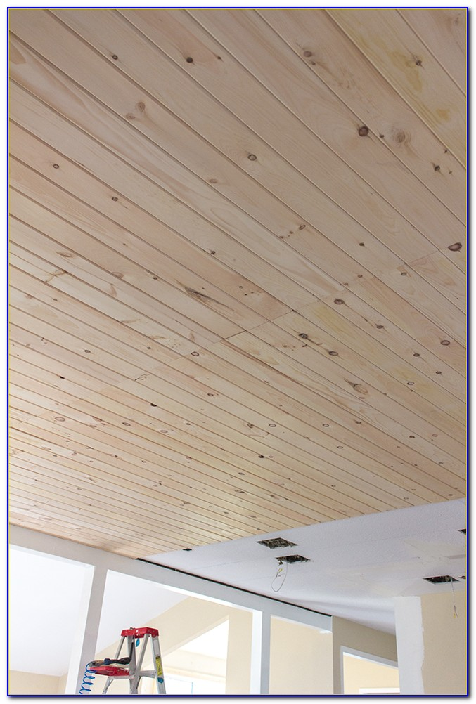 Tongue Groove Ceiling Planks