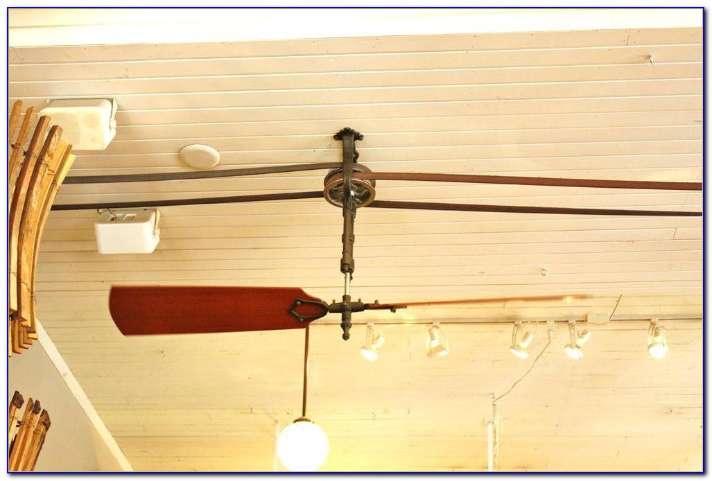 Twin Ceiling Fan Belt Drive
