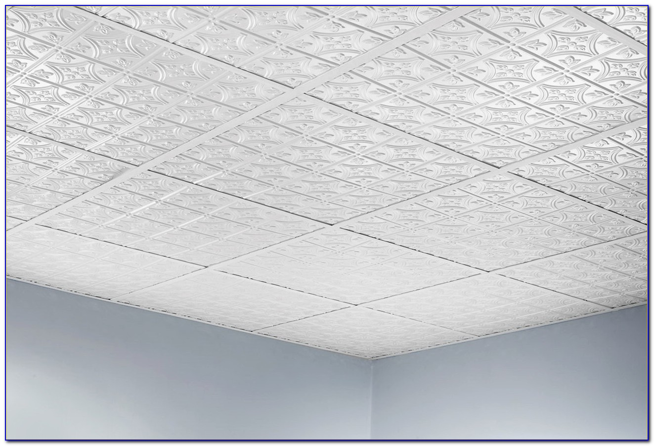 White Drop Ceiling Tile 24 X 48