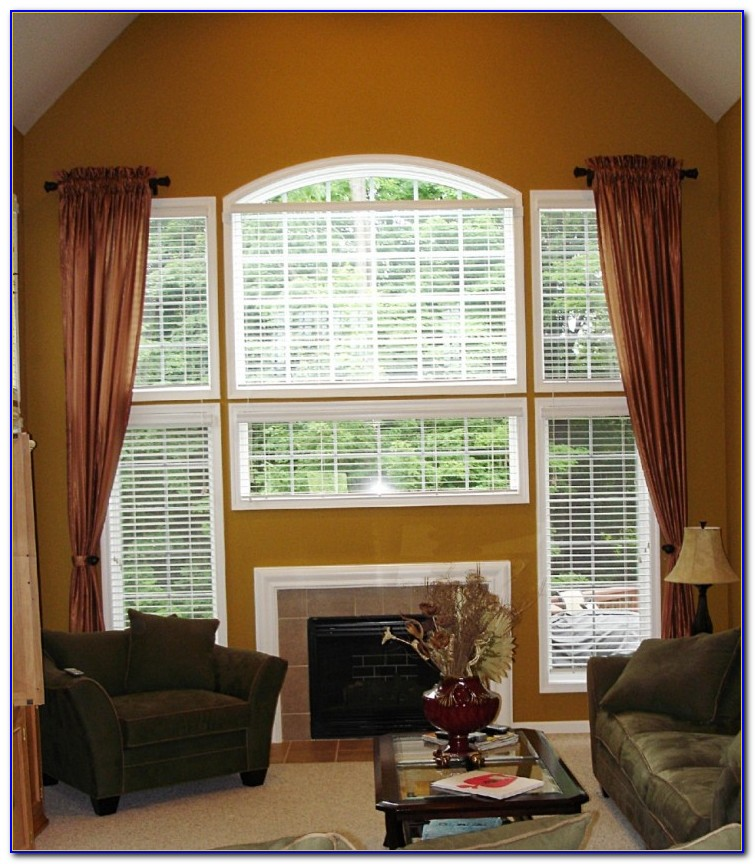 Window Treatments For High Ceilings Pictures