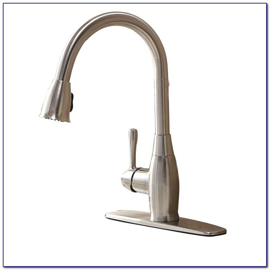 2 Handle Pull Down Sprayer Kitchen Faucet