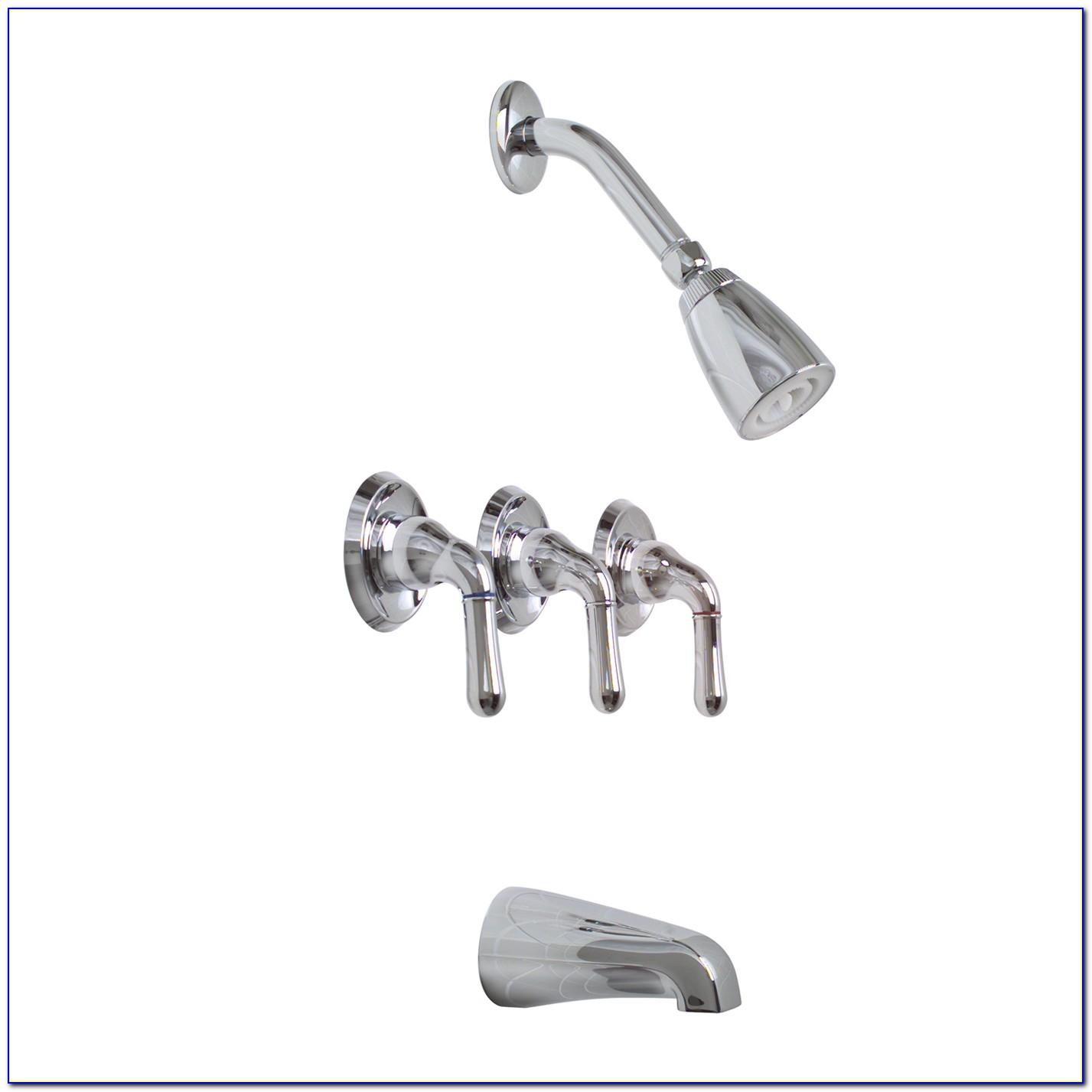 3 Handle Bathroom Faucet