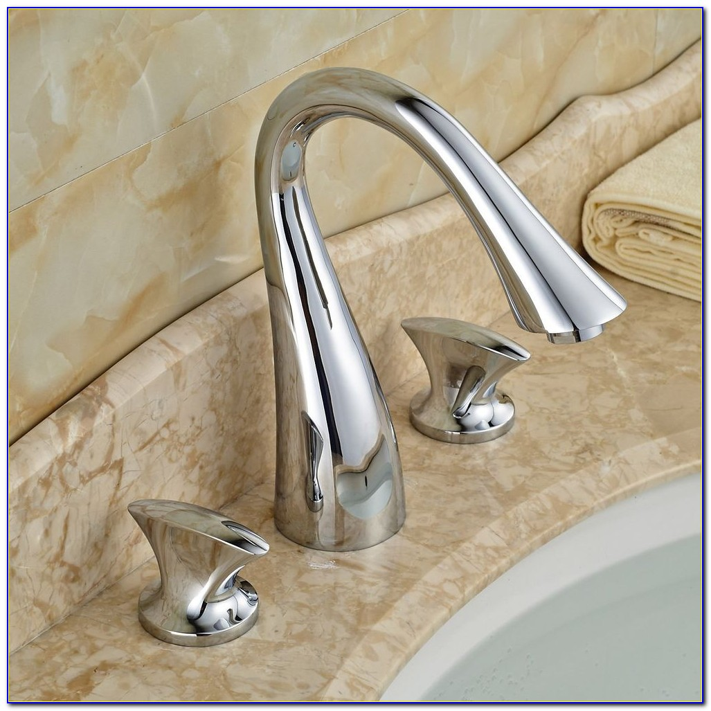 3 Hole Bathroom Sink Faucet