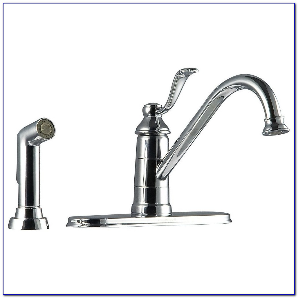 3 Hole Kitchen Faucet With Soap Dispenser